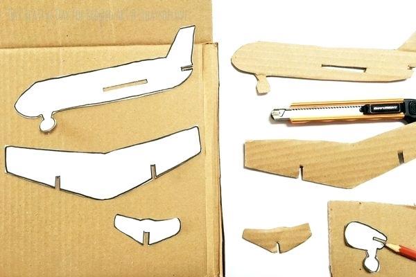 Aero cardboard-airplane-how-to-make-your-airplane-with-printable-3d-cardboard-airplane-template